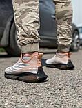 Кросівки чоловічі 18672, білі, [ 40 41 42 43 44 45 ] р. 40-26,5 див., фото 4