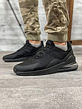 Кросівки чоловічі 18681, AirMax270 чорні, [ 40 41 42 43 44 45 ] р. 40-26,7 див., фото 9