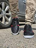 Кросівки чоловічі 18711, чорні, [ 40 41 42 43 44 45 ] р. 40-26,5 див., фото 8