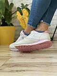 Кросівки жіночі 18783, RClassic білі/рожеві, [ 36 37 38 39 40 41 ] р. 36-24,0 див., фото 7