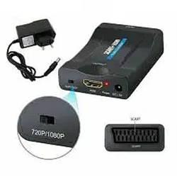 Конвертер видео SCART на HDMI 1080p/720p