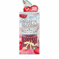 Набір гумка-браслет для волосся invisibobble ORIGINAL Happy Hour Cherry Cherie Lady (6шт)