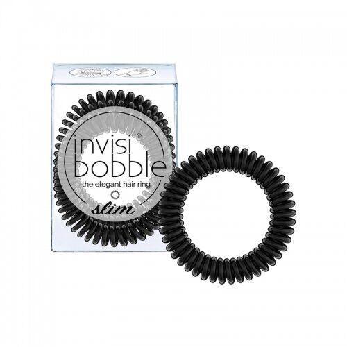 Гумка-браслет для волосся invisibobble SLIM True Black