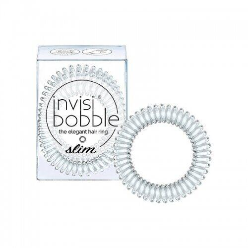 Гумка-браслет для волосся invisibobble SLIM Crystal Clear