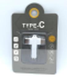 Адаптер Type-C на 3.5 Jack + Type-C F J-032