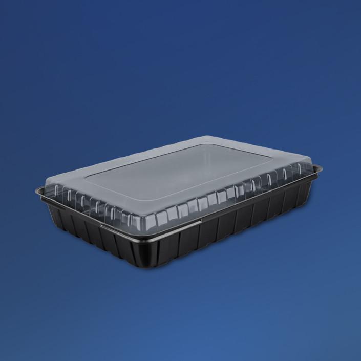 Упаковка для суші ПС-61ДЧ/270*190/1500мл(180шт/ящ)