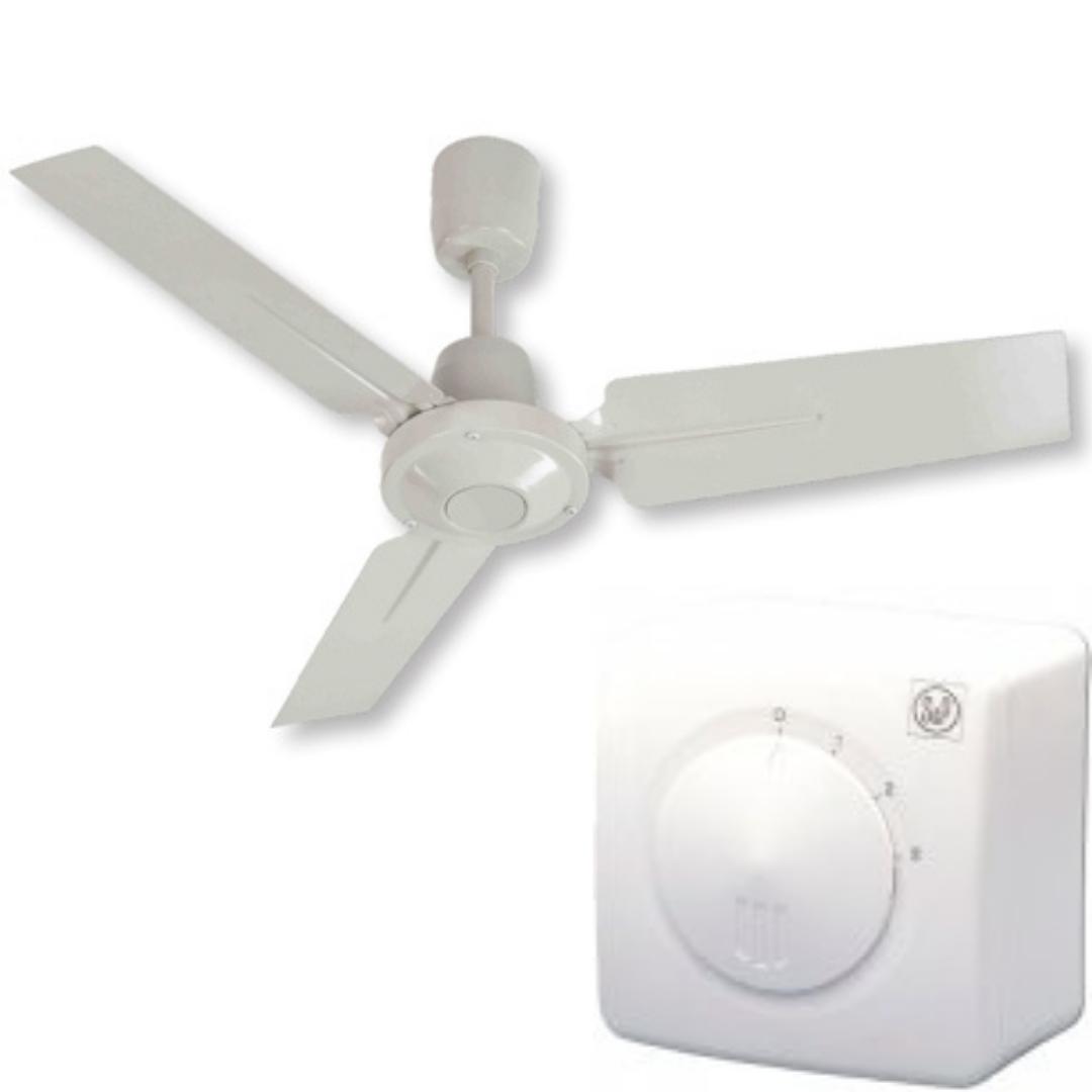 Стельовий річний лопатевий вентилятор Soler&Palau HTB-90 RC *230V 50*