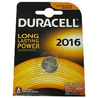 Батарейка Duracell 2016 Литий 3V