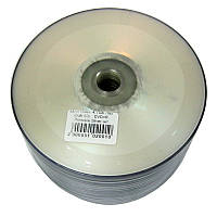 Диск Videx  4,7Gb -16x  (bulk 50)    DVD+R  Printable Silver