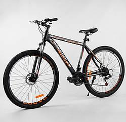 Велосипед Спортивный с 29 дюймовыми колесами, SunRun 21 скорость, стальная рама, Corso Aviator 93499