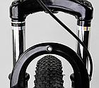 Велосипед Спортивный с 26 дюймовыми колесами, SunRun 21 скорость, металлическая рама, Corso Hyper 66729, фото 8