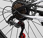Велосипед Спортивный с 26 дюймовыми колесами, SunRun 21 скорость, металлическая рама, Corso Hyper 66729, фото 10