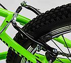 Велосипед Спортивный с 20 дюймовыми колесами, Shinemax 7 скоростей, металлическая рама, Corso Pulsar 80939, фото 7