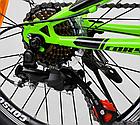 Велосипед Спортивный с 20 дюймовыми колесами, Shinemax 7 скоростей, металлическая рама, Corso Pulsar 80939, фото 9