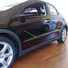 Молдинги на двері для Honda Civic Mk8 5Dr H/B 2006-2011