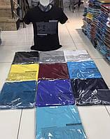 Чоловіча трикотажна футболка Denim розмір норма 46-52, колір уточнюйте при замовленні