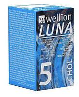 Тест-смужки Wellion LUNA CHOL №5 (холестерин)
