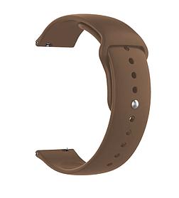 Ремінець Amazfit Bip / GTS / Galaxy Watch 42mm / Active2 / Gear S2 20mm pink sand силікон
