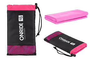 Полотенце из микрофибры ONRIDE Wipe 10 120х60 см розовый