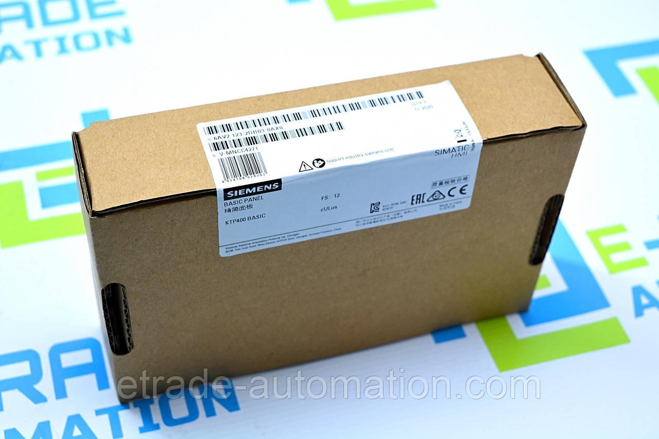 Панель оператора Siemens 6AV2123-2DB03-0AX0
