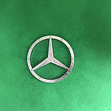 Эмблема на руль 52 мм Мерседес / Mercedes логотип значок, фото 2