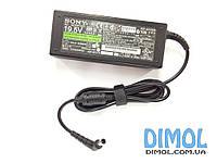Блок питания Sony VGP-AC19V26 19.5V, 4.7A (90W), разъем 6.5/4.4 (pin inside) [3-pin] ОРИГИНАЛЬНЫЙ