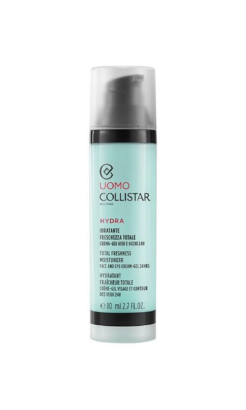 Collistar Linea Uomo K28525 Total Freshness Moisturizer Face And Eye Cream-Gel 24H Крем для обличчя і шкіри навколо