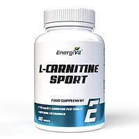 Жиросжигатель - Л - Карнитин - EnergiVit L-Carnitine Sport /60 tablets