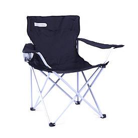 Туристичне розкладне крісло Spokey Angler (original) 120кг, з підсклянником, кемпінговий стілець складаний