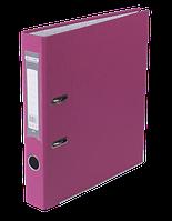 Папка-реєстратор А4 50 мм LUX  рожева JOBMAX, Buromax