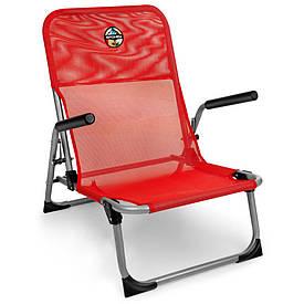 Розкладне крісло з підлокітниками Spokey Bahama 926796 (original) складное крісло, стілець розкладний