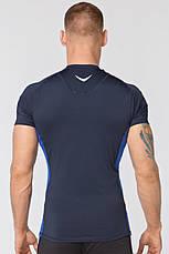 Компрессионная спортивная футболка Rough Radical Fury Duo SS (original), мужской рашгард с коротким рукавом, фото 2