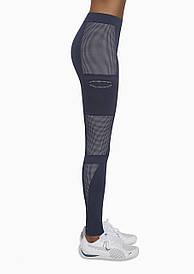 Спортивные женские легинсы BasBlack Passion blue (original), лосины для бега, фитнеса, спортзала