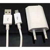 Настенное зарядное устройство micro USB 1A