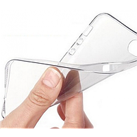 """Прозрачный силиконовый чехол для iPhone 6 plus (5.5 """")   пленка!"""