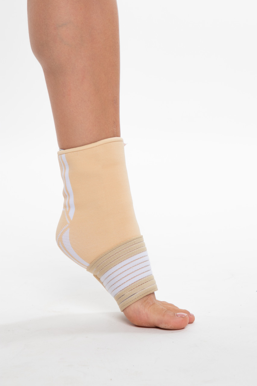 Бандаж спортивный для лодыжки Spokey Segro (838559), фиксатор голеностопного сустава, щиколотки, голеностопа