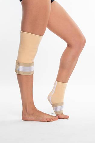 Бандаж спортивный для лодыжки Spokey Segro (838559), фиксатор голеностопного сустава, щиколотки, голеностопа, фото 2