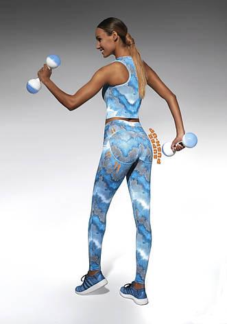Розмір S Спортивні жіночі легінси BasBlack Energy (original), лосини для бігу, фітнесу, спортзалу, фото 2