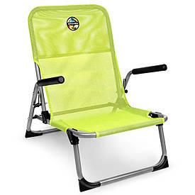 Розкладне крісло з підлокітниками Spokey Bahama 926795 (original) складное крісло, стілець розкладний