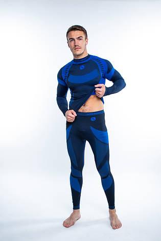 Термобілизна чоловіче спортивне Sesto Senso Active (original) зональне безшовне комплект, фото 2