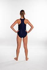 Закрытый женский купальник спортивный Aqua Speed Nina (original), цельный, слитный, для бассейна, фото 2
