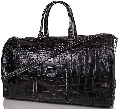 Дорожная кожаная мужская сумка 35 л. DESISAN (ДЕСИСАН) SHI505-D-2KR