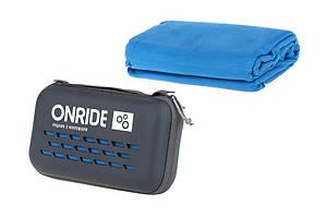 Полотенце из микрофибры ONRIDE Wipe 20 120x60 см в кейсе голубой