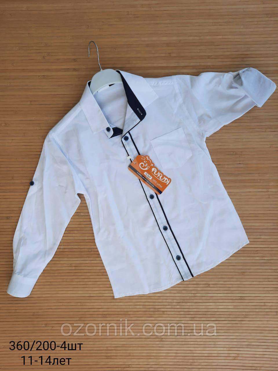 Оптом Школьная Белая Рубашка на Мальчика 7-10 лет Турция