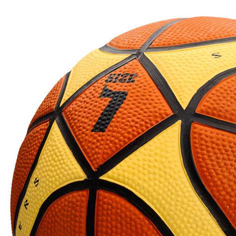 Баскетбольный мяч Meteor Inject (original) размер 7 Польша, фото 2