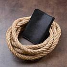 Обкладинка для паспорта з натуральної шкіри GRANDE PELLE 11304 Чорна, фото 6