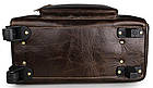 Сумка дорожня Vintage 14253 на колесах Коричнева, фото 8