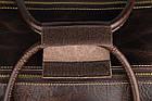 Сумка дорожня Vintage 14253 на колесах Коричнева, фото 10