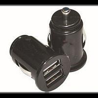 USB  адаптер в прикурователь авто, 2 х порта USB
