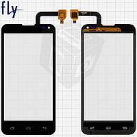 Touchscreen (сенсорный экран) для Fly IQ4415, черный, оригинал